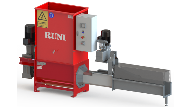 RUNI SK200 EPS Screw Compactor with Automatic Hydraulic Jaws