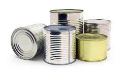 Canned Food Before Compacting