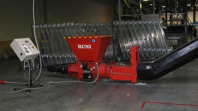 RUNI Screw Compactor Solution for Bed Springs