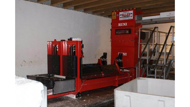 Double system for compacting EPS /Airpop