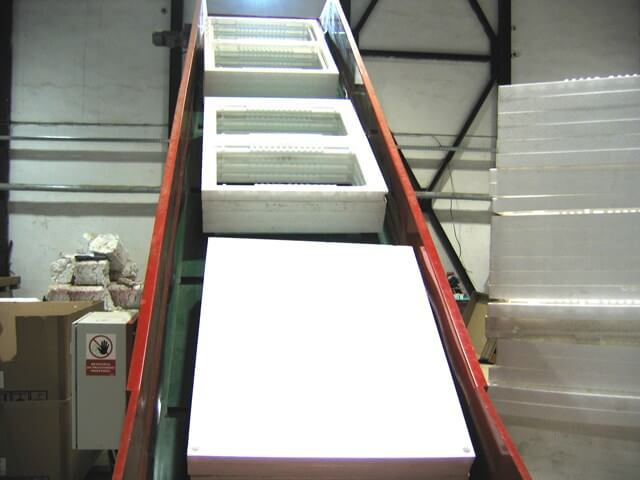 EPP Foam in Conveyor